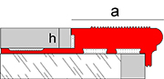 Novopeldaño MaxiSoho - Perfiles para peldaños de composite