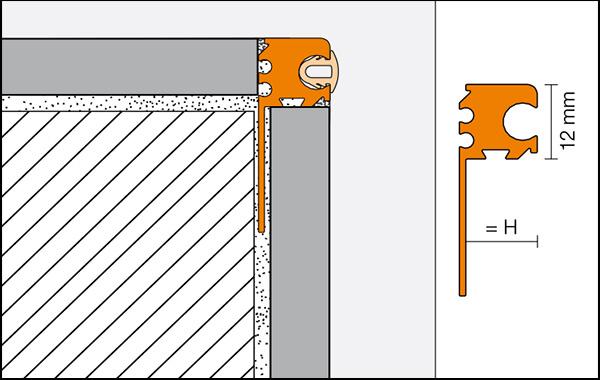 ARCLINE-APE - Decorative profile for fitting accessoriesón de accesorios