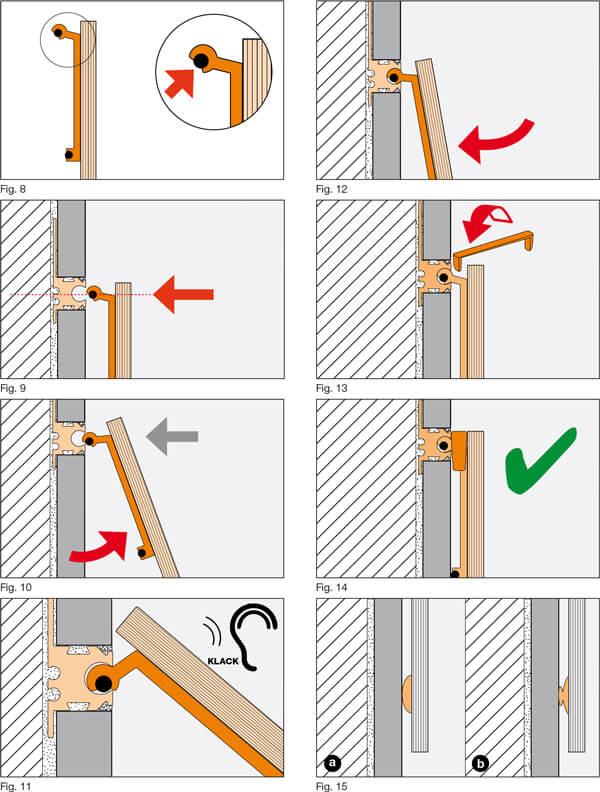 Profilo decorativo per il posizionamento degli accessori - ARCLINE-APE