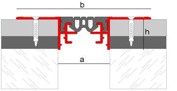 Anti-Slip Structural Expansion Joint Novojunta Pro
