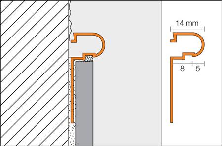 Decorative aluminum borders - RONDEC-DB