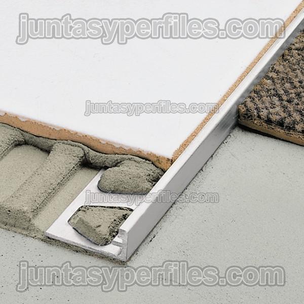 cantoneras para azulejos o perfil de borde modelo schiene