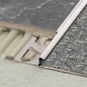 RENO-TK - Perfil de transição entre tapetes e cerâmica