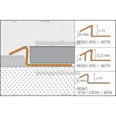 RENO-TK - Perfil de transición cerámica moqueta