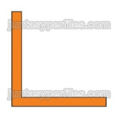 WINKEL - Profilo in alluminio massiccio a forma di L