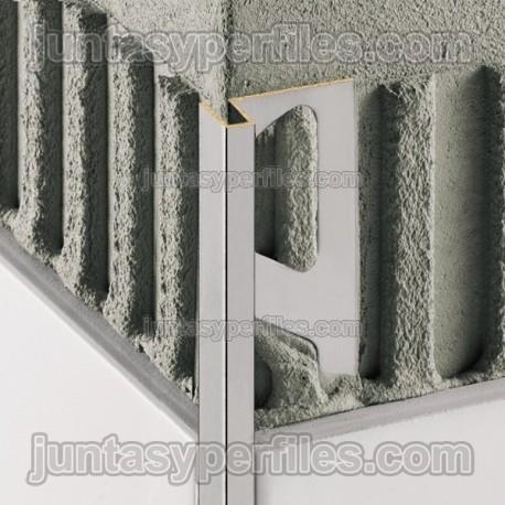 Deco cantoneras para azulejos perfil esquinero para for Esquineras de pared