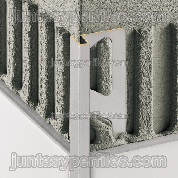 Deco cantoneras para azulejos perfil esquinero para for Esquineros para paredes