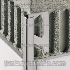 QUADEC-E - Profilé de bord de tuile en acier inoxydable