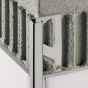QUADEC-E - Stainless steel square edge profile