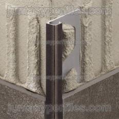 QUADEC-TS - Perfil de vora quadrat en alumini amb relleu
