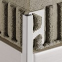 QUADEC-PQ - Perfil de vora quadrat en PVC acolorit