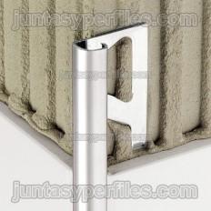 RONDEC-E - Perfil de vora redondado en acer inoxidable