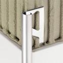 RONDEC-E - Profilé de bord arrondi en acier inoxydable