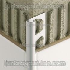 RONDEC-A - Perfil de canto arredondado em alumínio anodizado