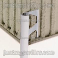 RONDEC-AC - Perfil de vora redondado en alumini lacat