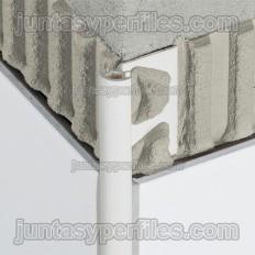 RONDEC-PRO - Perfil de vora redondado en PVC acolorit