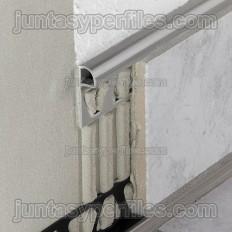 RONDEC-PRG - Perfil de vora redondado en PVC acolorit