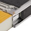 RONDEC-STEP-CT - Angoli del piano di lavoro in alluminio