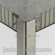 ECK-E - Perfil d'acer inox de 135º per a la protecció de la cantonada