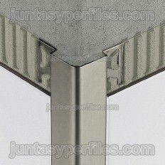 ECK-E - Stainless steel profile for protecting the outside corners