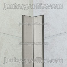 ECK-K - Overlapping stainless steel corners profile