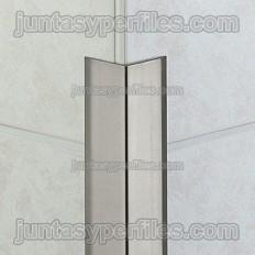 ECK-K - Perfil angular sobrepostos de aço inoxidável
