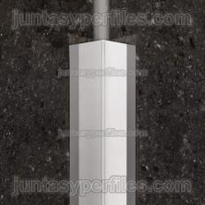 ECK-KI - Ângulo reto de aço inoxidável para montagem interna