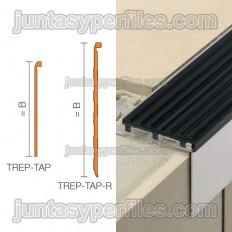 TREP-TAP - Recubrimiento liso de peldaños para escaleras
