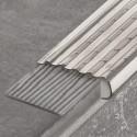 TREP-EK - Non-slip stainless steel stair nosing overlay