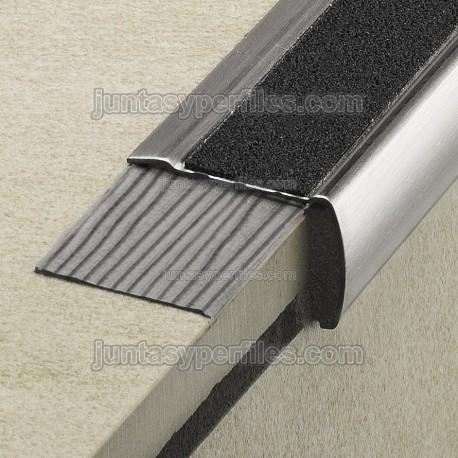 perfiles para escaleras de 59x17mm cinta antideslizante