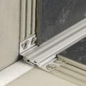 DILEX-BTO - Floor-wall aluminum structural joint