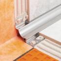 DILEX-HKS - Profilé sanitaire en acier inoxydable avec joint de dilatation