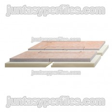 KERDI-SHOWER-LC - Panel with central slope for work shower trays