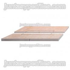 KERDI-SHOWER-L - Panel con pendiente central para platos ducha de obra