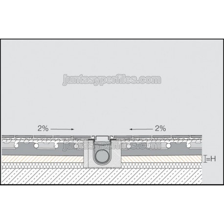 KERDI-SHOWER-BSL - Panel con pendiente para ducha