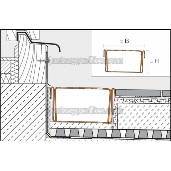 Canaletas de agua perforada y rejilla inoxidable troba line tl - Canaletas para agua ...