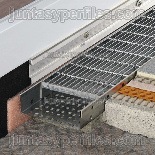 Canaletas de agua perforada y rejilla inoxidable troba - Canaletas para agua ...