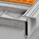 BARA-RAM - Caniveau de balcon en aluminium