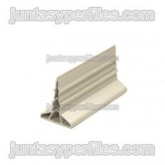 Novojunta Concreonado 40 - Placa de concreto de PVC