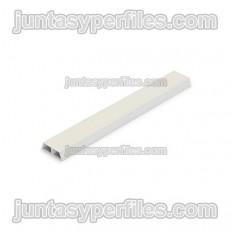 Junquillo fachada blanco 20 mm B/2 m Paq 130 ud
