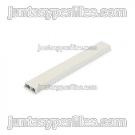 Junquillo fachada 20 mm B/2 m Paq 13 ud