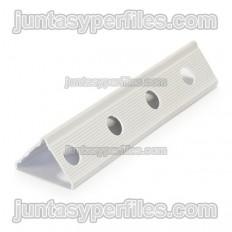 Protetor de borda de PVC borda redonda para monocamada 35x28 mm
