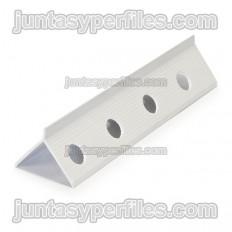 Hidden PVC plaste profile for 42x31 mm monolayer mortars
