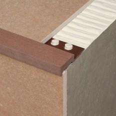 Novopeldaño Maxidakar - Composite stair nosing profile