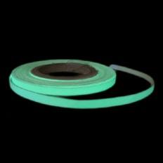 Banda fotoluminiscente 5mm autoadhesiva rollo 5m