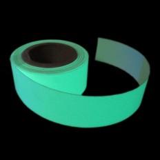 Banda fotoluminiscent autoadhesiva de senyalització
