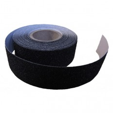 Non-slip adhesive tape in black