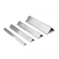 Linox TS - Profilé d'angle en acier inoxydable superposé