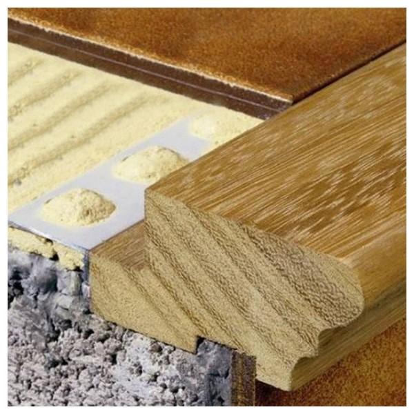Pelda os para escaleras de madera natural modelo for Perfiles de madera