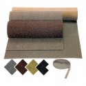 CURLY GRUESO - Tapete de entrada de tapete ou fibra grossa